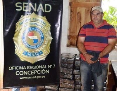 San Pedro: Interceptan carga de droga destinada a Brasil