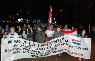 Villarrica dice no a enmienda