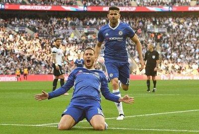 Hazard mete al Chelsea en la final de la FA Cup