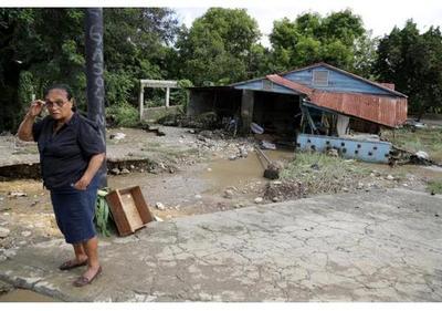 República Dominicana reporta decenas de desplazados por lluvias