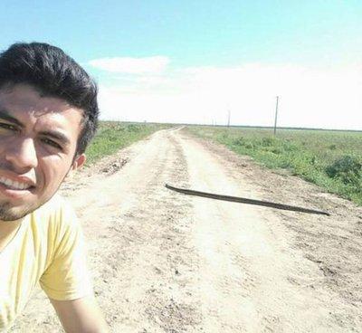 Enormes serpientes se pasean por todo el Chaco