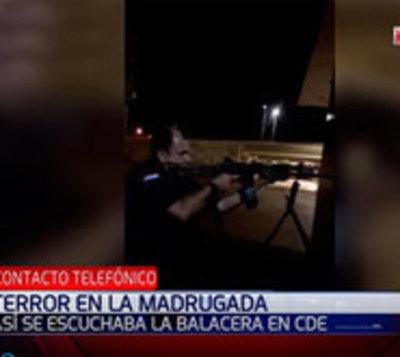 Así se enfrentaron policías y delincuentes tras asalto a Prosegur