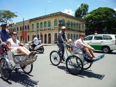 Los últimos ciclos a pedales de la antigua Saigón