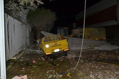 Una bóveda resultó afectada en asalto a Prosegur