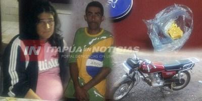 PAREJA DISTRIBUIDORA DE CRACK DETENIDA