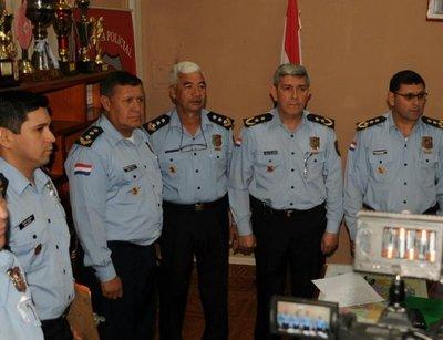 Asumen nuevos jefes policiales en Alto Paraná