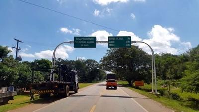 Inaugurarán la circunvalación de Carapeguá y su tramo asfaltado hasta Nueva Italia