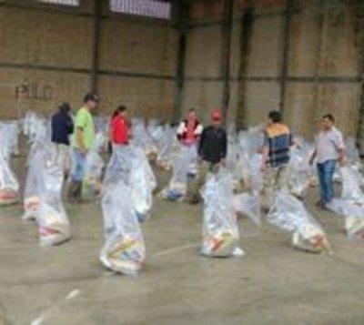 Asisten a 2.200 familias tras intensas lluvias en Ñeembucú y Misiones