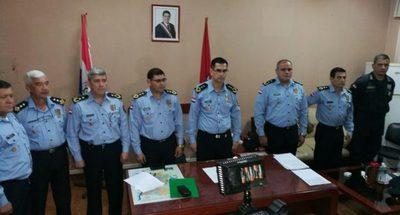 Tras el mega asalto en CDE, asumen nuevos jefes policiales