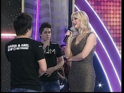 """Abel Alfonzo: """"Mi cara le conquistó a Nadia"""""""