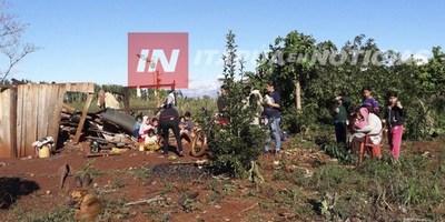 PÉRDIDAS INCALCULABLES TRAS TORNADO EN NATALIO