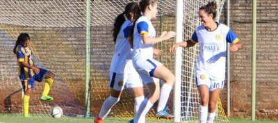 Un festival de goles en la primera fecha del femenino