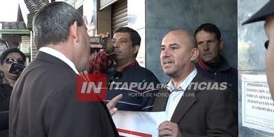 INADAPTADO EMBARRA PACÍFICA MANIFESTACIÓN DE PERIODISTAS