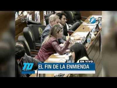 Diputados sepultan el proyecto de enmienda