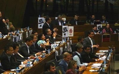 Diputados ya mandó al tacho la enmienda