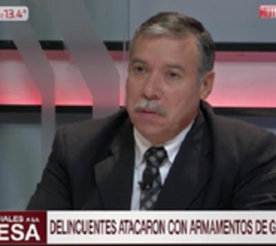 """Asalto CDE: """"La GEO debe trabajar en grupo, no puede dispersarse"""""""