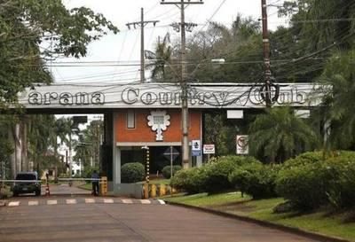 Allanan Paraná Country Club por asalto a Prosegur
