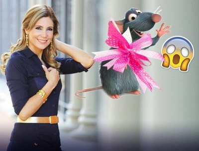 Obsequiaron Una Rata Muerta A Sannie López Garelli