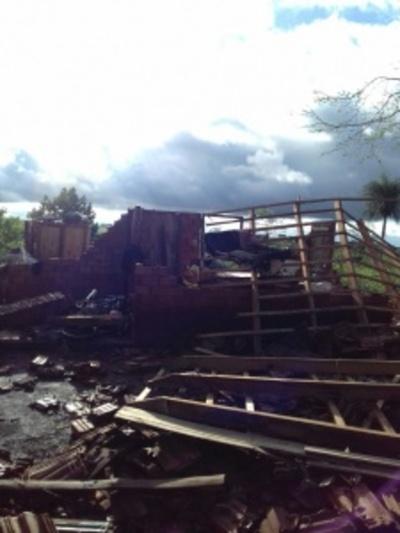 Un muerto y varios heridos tras fuerte tormenta en Itapúa
