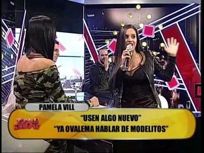 Tenso momento entre Pamela Vill y Norita Rodríguez