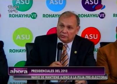 """""""Asunción primero"""", según Mario Ferreiro"""