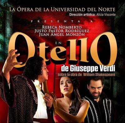 """Presentarán """"Otello"""" en el Teatro Municipal"""