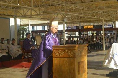 Monseñor Giménez destacó el punto final de la enmienda