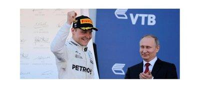 Bottas logra en Rusia su primera victoria en la Fórmula Uno
