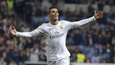 Cristiano Ronaldo, a un gol de Messi