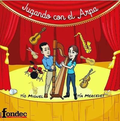 Aprendizaje lúdico sobre arpa paraguaya en Vícoli