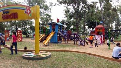 Ñu Guasú: Sin parque de juegos desde mañana