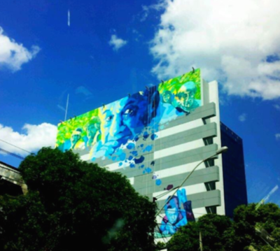 La historia detrás del graffiti de Roa Bastos