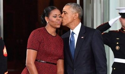 Obama le metió ra'e los cuernos a Michelle