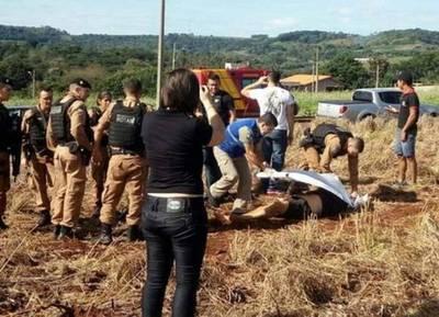 Tres muertos durante un operativo de la policía brasilera la zona de Itaipulandia