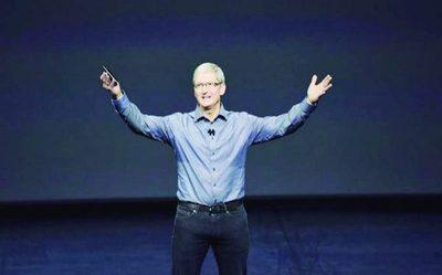 Valor de Apple supera  US$ 800 mil millones