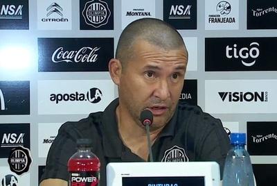 Mauro Caballero dejó de ser técnico de Olimpia