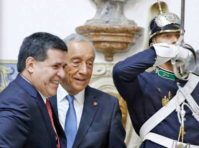 Presidente Cartes se reunió con su par de Portugal