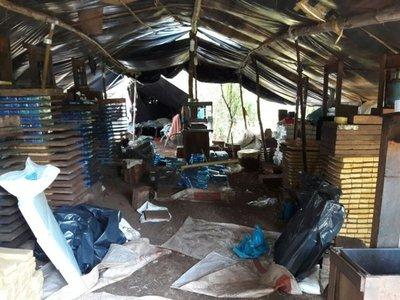 Requisan 40 toneladas de droga en Amambay