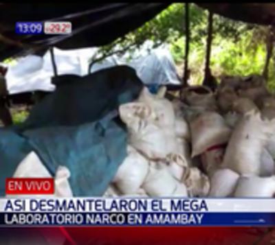Amambay: Sacan de circulación 40.000 kilos de droga en megaoperativo