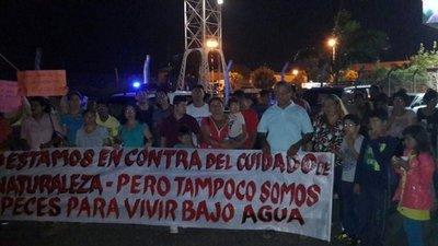 Limpeños, a favor de lagunas en Parque Guasú