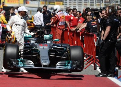 Primero para el GP de España