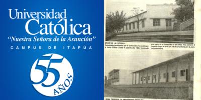 UC-ITAPÚA CELEBRA 55 AÑOS, TRAYECTO COLMADO DE LOGROS Y SERVICIO COMPROMETIDO