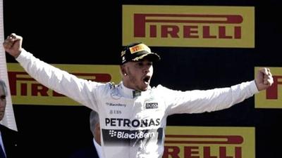 Hamilton conquistó el Gran Premio de España