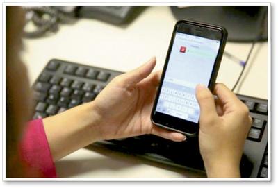 Alertan sobre imágenes que  se envían en las redes sociales