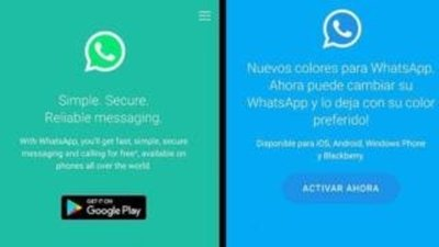 WhatsApp en colores: ¿De qué se trata?