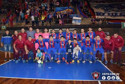 Cerro y Afemec se alistan para la Libertadores de Futsal
