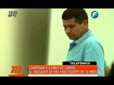 Condenado a 6 años de cárcel por violar a una menor de 15 años