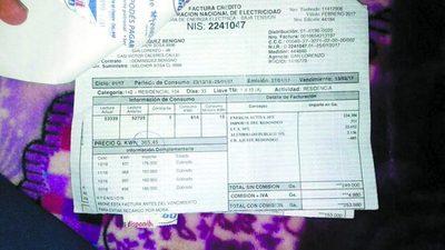 De G. 190.000, ahora deberá pagar G. 14.000.000 a la ANDE