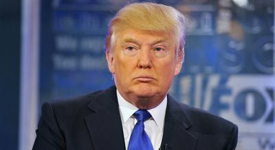 """""""Esta es una cacería de brujas"""", afirmó Trump"""