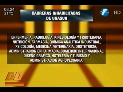 31 filiales de la UNASUR clausuradas por el Cones